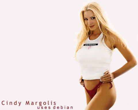 cindy_margolis_uses_debian