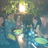 Вечеря с Галина Дурмушлийска и семейството и - много хубави хора!