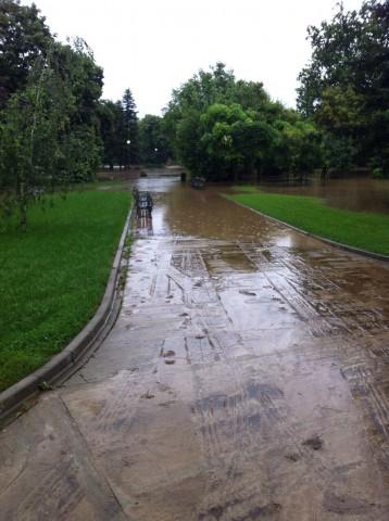 Наводненията в Добрич