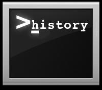 Показване на дата и час при history