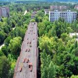 Припят, Украйна Припят е основан на 4-ти Февруари 1970 г. в Украйна близо до границата с Беларус, като съветски ядрен град. Бил е дом за много работници работещи в атомната централа в Чернобил. След като е бил евакуиран, Припят е останал радиоактивен град, който се посещава само чрез екскурзия с гид.