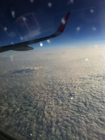 Облаците над Англия