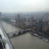 Гледка към Биг Бен от Окото на Лондон