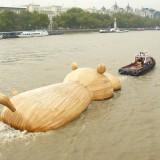 Гигантски дървен хипопотам