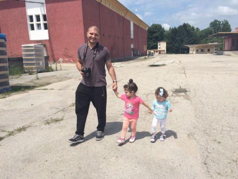 тук съм с Ивка и Ани във Винпром Свищов
