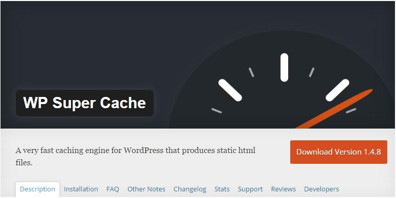 wordpress wp-super-cache