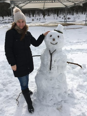Един прекрасен зимен ден