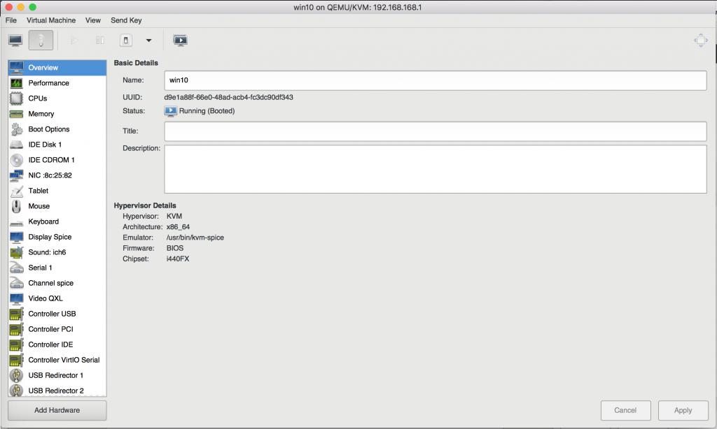 ubuntu 16.04 kvm howto
