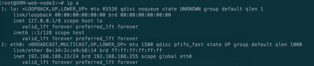 ubuntu ens interface