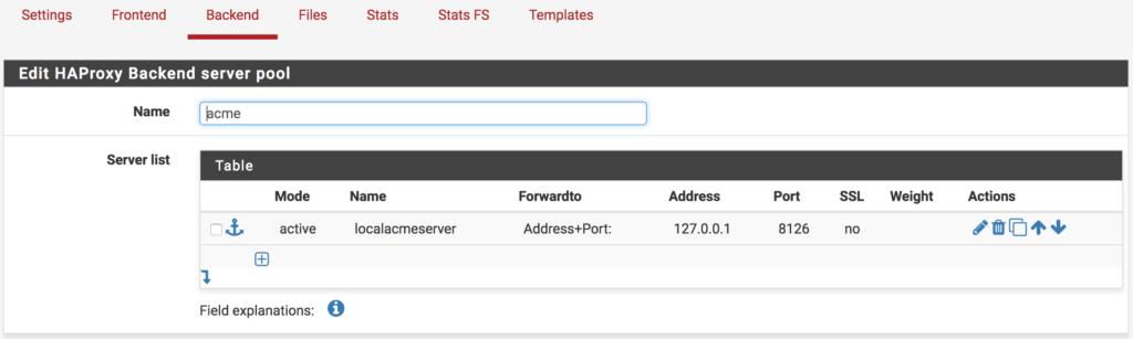 pfSense HAproxy LetsEncrypt http2