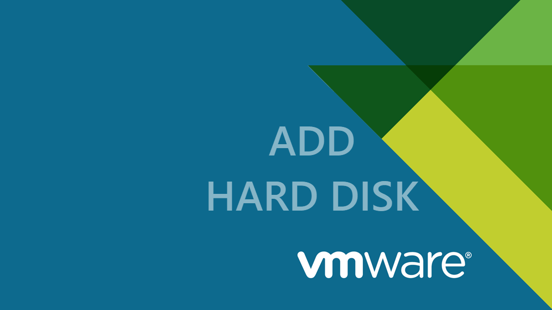 VMware add new hard disk to linux server without reboot