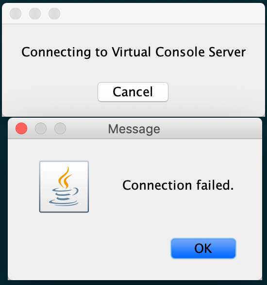 Fix for Java 8 and iDRAC 6 Connection Failed for MacOS